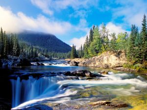 Elbow-River-and-Falls-Kananaskis-Country-Alberta-Canada