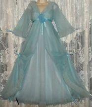 blue negligee