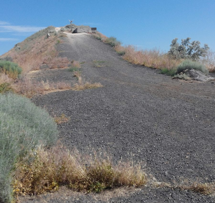 Evel Knievel jump site