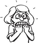 nervous-woman-cartoon