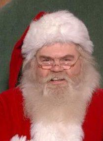 creepy looking santa