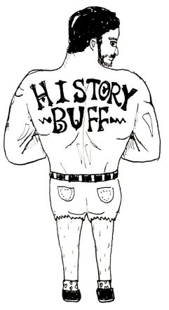 drawing of history buff