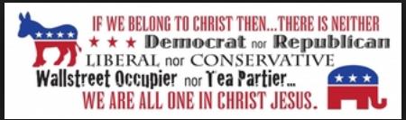 Neither Democrat nor Republican