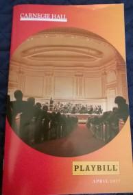 Carnegie Playbill