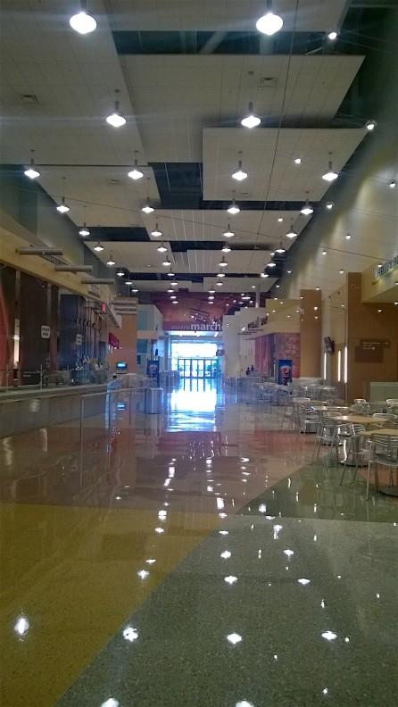 Inside Convention Center