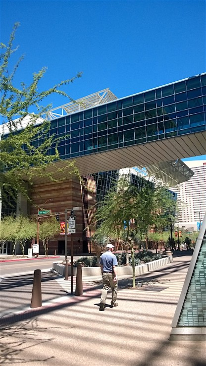 Outside Convention Center