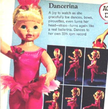 Dancerina Ballerina ad
