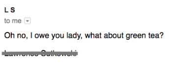 From him, email 5