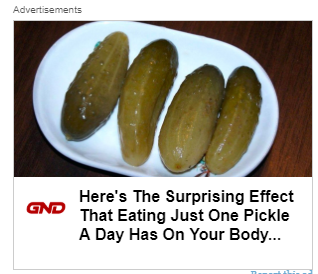Pickle ad
