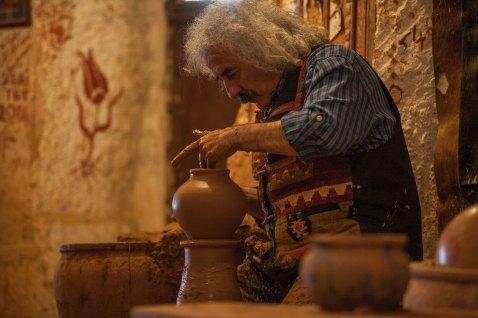 Ceramics teacher