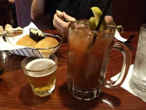 Bloody Mary with snit