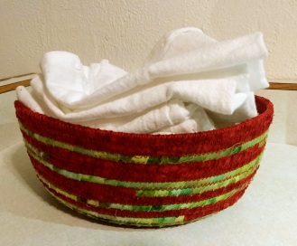 Basket of nonpaper towels