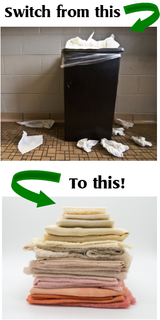 Switch from paper towels
