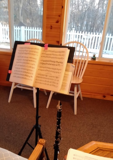 clarinet sunroom