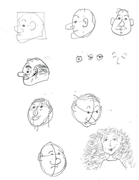 face sketches