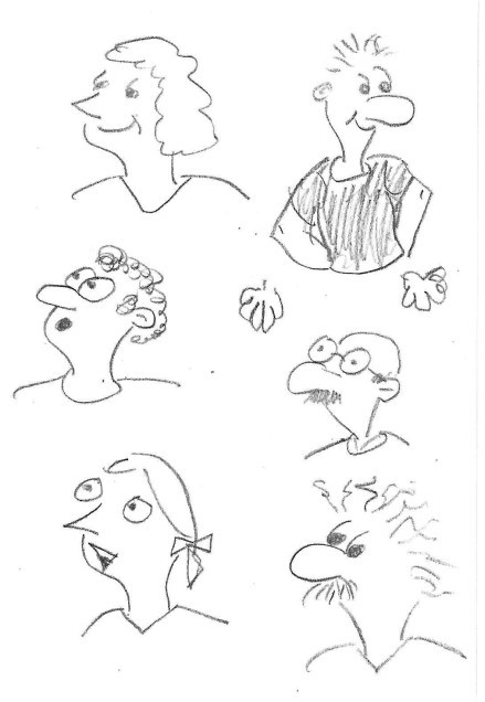 more face sketches