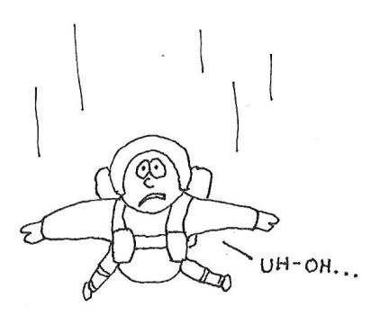 skydiver's fatal mistake