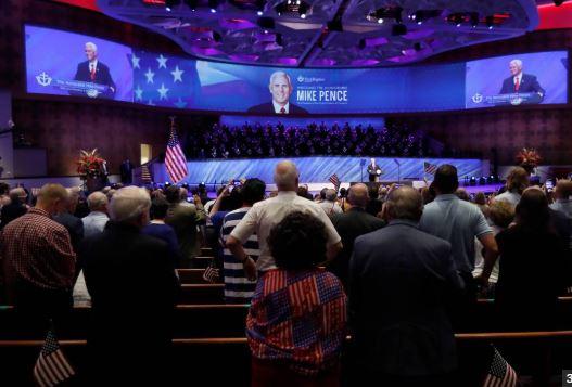 worshiping america