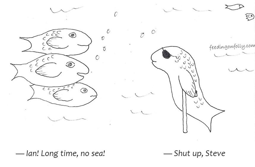 comic of fish
