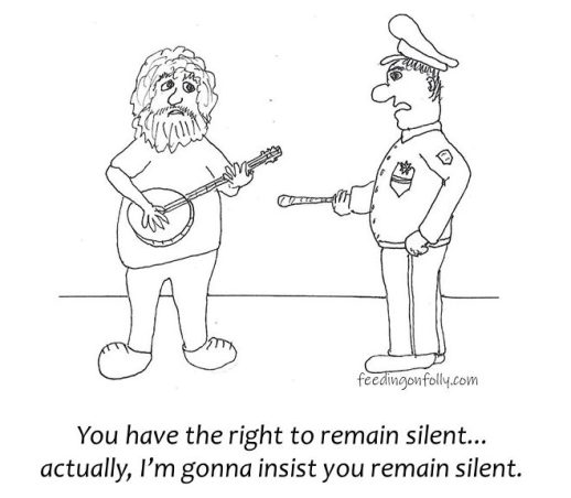 comic with banjo player arrested