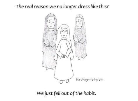 comic of nuns in habit